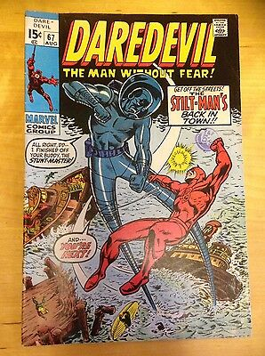 Marvel Comics. DAREDEVIL Comic - Vol 1 - No 67 - 1970