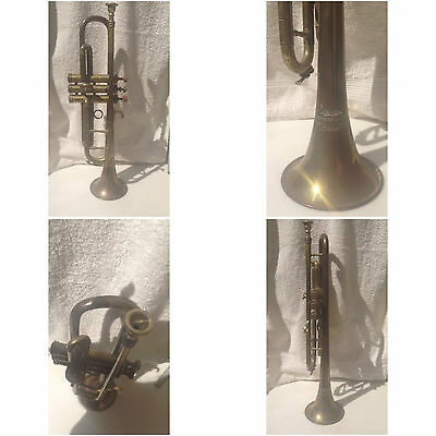 trompette Besson&Co trumpet Euston Road London trompeta tromba