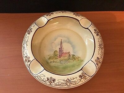 """Lovely old Vintage Royal Winton Grimwades """"Old England """" Hand Painted Ashtray"""