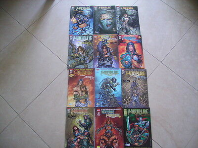 lotto fumetti witchblade top cow