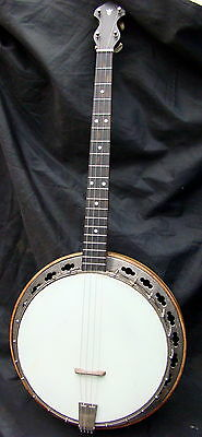 Slingerland May Bell Tenor banjo.Original 1920's,+ Case.Un-restored.