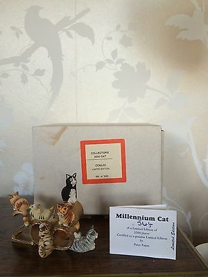 Peter Fagan Colour Box Collectors 2000 Cat Limited Edition