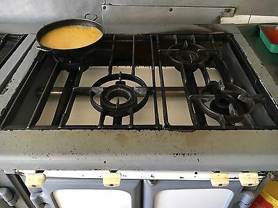 4 Hob Commercial Electric Cooker with Oven 3 Phase