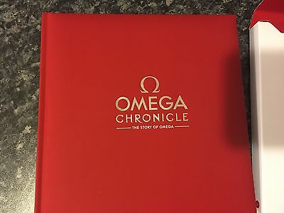Official Omega Cronicle Book Seamaster Planet Ocean Etc