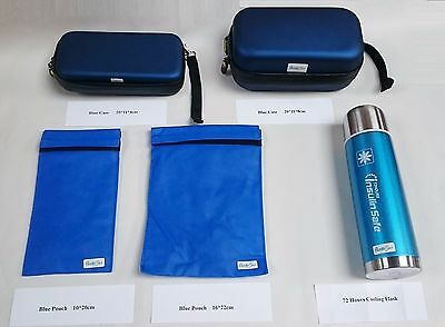 Diabetic Insulin Cooler Pouch Travel Case Bag Flask Cooling Cool Reusable Wallet
