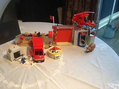 Postman  Pat  Toy Bundle Sorting Office  & Post  Lorry  & Helicopter ect