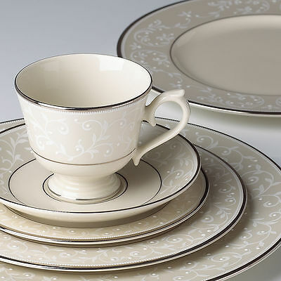 Lenox Pearl Innocence 5pc Place Setting - Set of 12