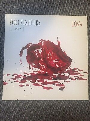 """Foo Fighters Low 7"""" Numbered Rare Vinyl Single Record"""