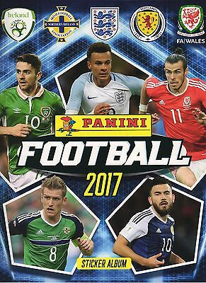 Panini Football 2017 Choose your individual / single Stickers - Buy 3 get 7 Free