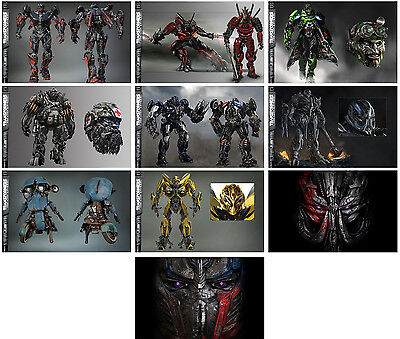 10pc Transformers 5: The Last Knight (2017) Promo Cards Photo Card Card Stickers