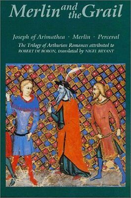 Merlin and the Grail by Robert De Boron New Paperback Book