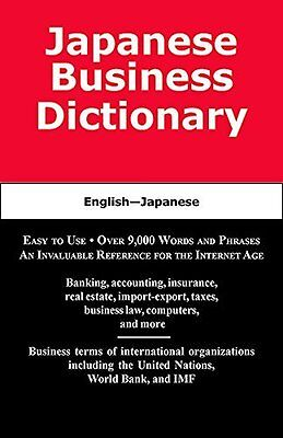 Japanese Business Dictionary by Sofer  Morry Paperback New  Book