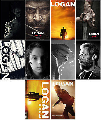 10pc Logan (2017) Wolverine: Weapon X Promo Cards Photo Card Card Stickers