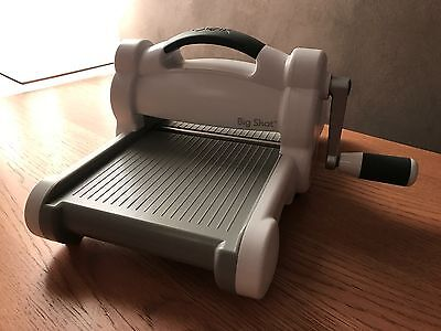 Sizzix Big Shot Machine - With Extended Plates - Excellent Condition