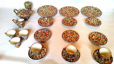 James Kent Du Barry Chintz China 32 Pieces Lovely Set