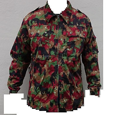 Swiss Army TAZ 83 Alpenflage camouflage Jacket size X-Large Grade 1 condition