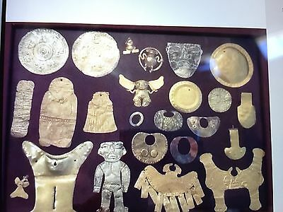 Gold Collection PRE-COLUMBIAN MAYA MOCHE,CHIMU PARACAS SINU MAYAN some Published