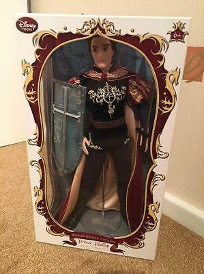 Disney Store Exclusive Limited Edition Prince Phillip Doll Sleeping Beauty 17""