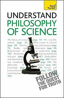 Philosophy of Science: Teach Yourself by Thompson  Mel Paperback New  Book