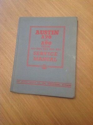 Austin A70 and A90 Service Manual