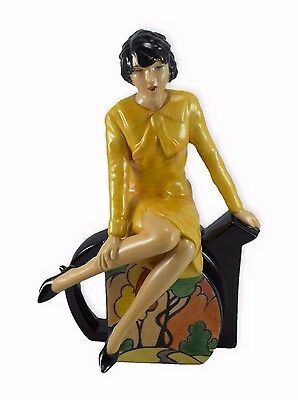 Kevin Francis/ Peggy Davies Figure 'Clarice Teatime'