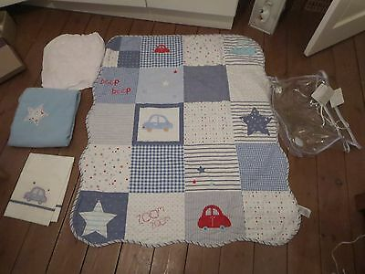 Brand New mothercare baby boy bedding set BNWT