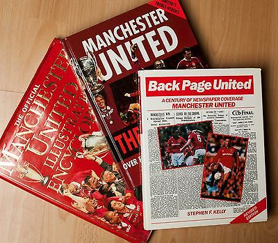 3x Manchester United F.C. Books Bundle - The Red Army - Encyclopedia - MUFC