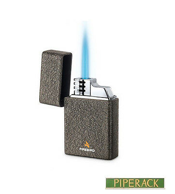 Colibri Firebird Fury Jet Torch Flame Lighter Grey New Gift Boxed (Like Ronson)