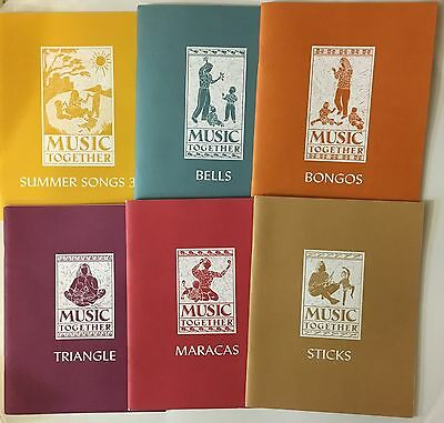 Music Together Books Summer Songs 3, Bongos, Bells, Triangle, Maracas,, Sticks