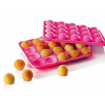Silicone Non Stick Cake Pop Set Baking Tray Makes Up To 20 CakePops Mould Kids