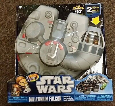 Mighty Beanz - Star Wars Millennium Falcon (inc 2 free Beanz) - new & sealed