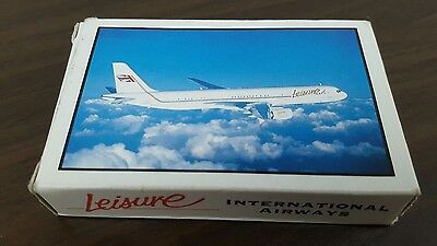 Leisure Airways Playing Cards
