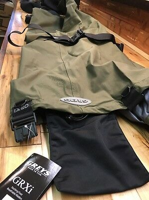 Hardy/Greys Grxi Breathable Stocking Foot Chest Waders Sz. Short King.