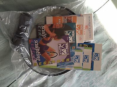 Pilates Ring And Four Dvds