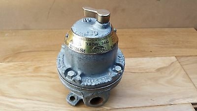 Rare Vintage Industrial Walsall Light Switch Type 1682 BX
