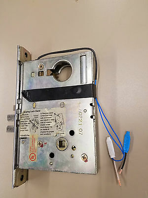 Schlage Electric Mortise Lockset Body Only USED M1520C-00-1-L9070B-24VAC/DC
