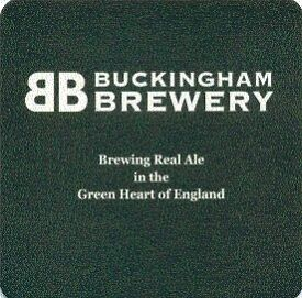 Buckingham brewery beermat Cat 001