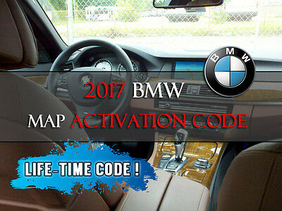 2017 BMW Navigation Map LIFETIME code for 328 335 528 535 650 750 X3 X5 X6 GT