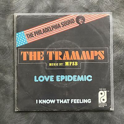 "Trammps Single 7"" Love Epidemic !!! Philly Soul !!!"