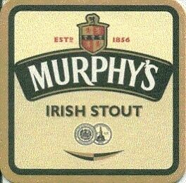 Murphy brewery beermat Export Cat 187