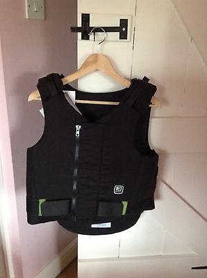 Brand NEW Rodney Powell Elite Black Body Protector Adults Size 4