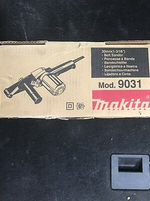 "1-1/8"" x 21"" Belt Sander Makita 9031 New"