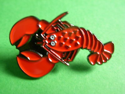 Lobster Collectable pin badge. Seaside. Holidays. Beach