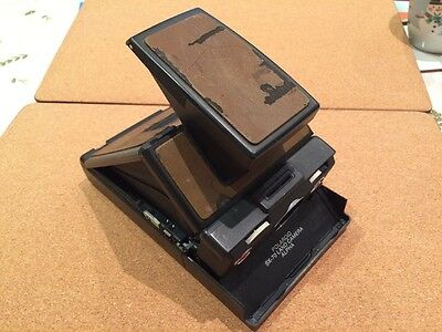 Vintage Polaroid SX-70 alpha camera TESTED & WORKING
