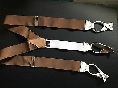Albert Thurston Classic braces Brown