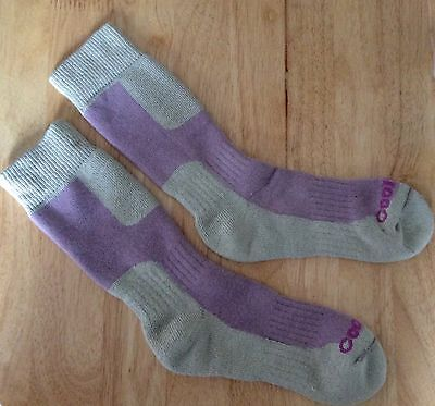 ladies coolmax walking hiking socks size 3-5 Only £3.49!