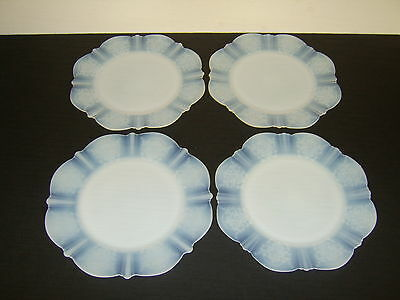 "Set of 4 Macbeth-Evans American Sweetheart Monax 8"" Salad Plates"