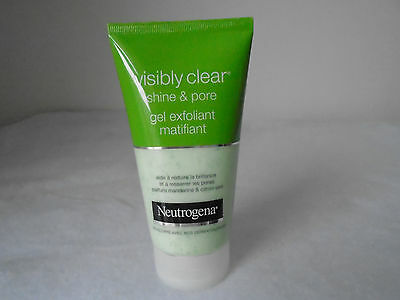 GEL EXFOLIANT MATIFIANT  visibly clear shine & pore - NEUTROGENA