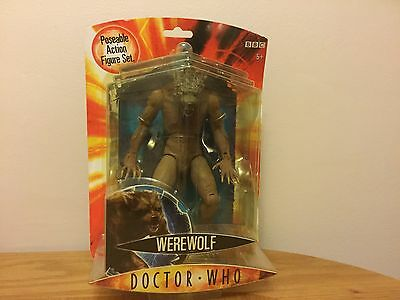 Doctor Who Werewolf Action Figure Brand New Still Sealed