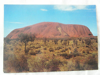 Ansichtskarte, Ayers Rock viewed from the South, Australien - Australia,
